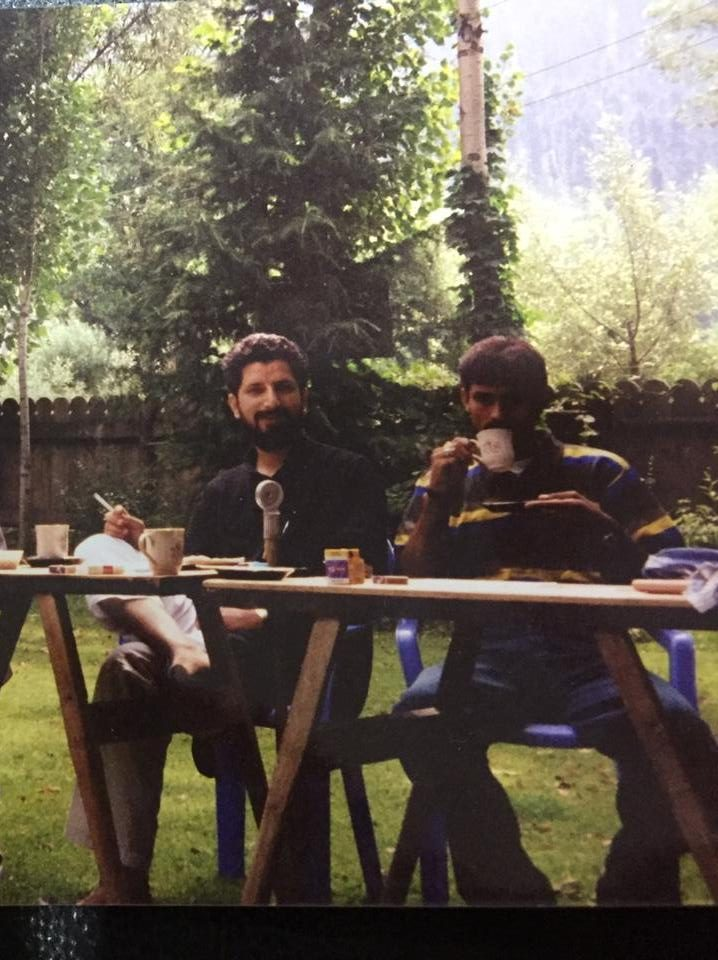 Memories of Life in Kashmir. Photo courtesy of Kumar M Tiku.